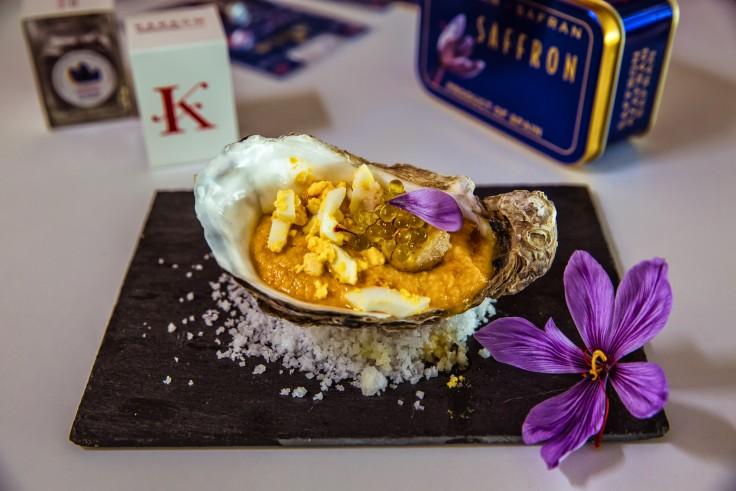 Primer taller de cocina con azafrán KARKOM