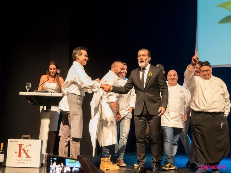 Cena benefica Antonio Banderas, Fundación Lágrimas y Favores Málaga