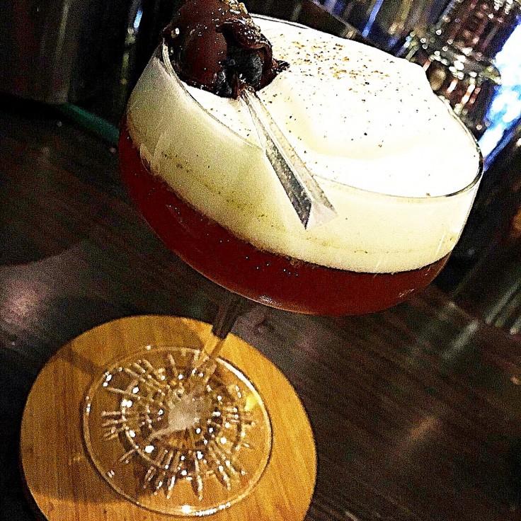 Cocktail Amber Velvet de Mario Villalón