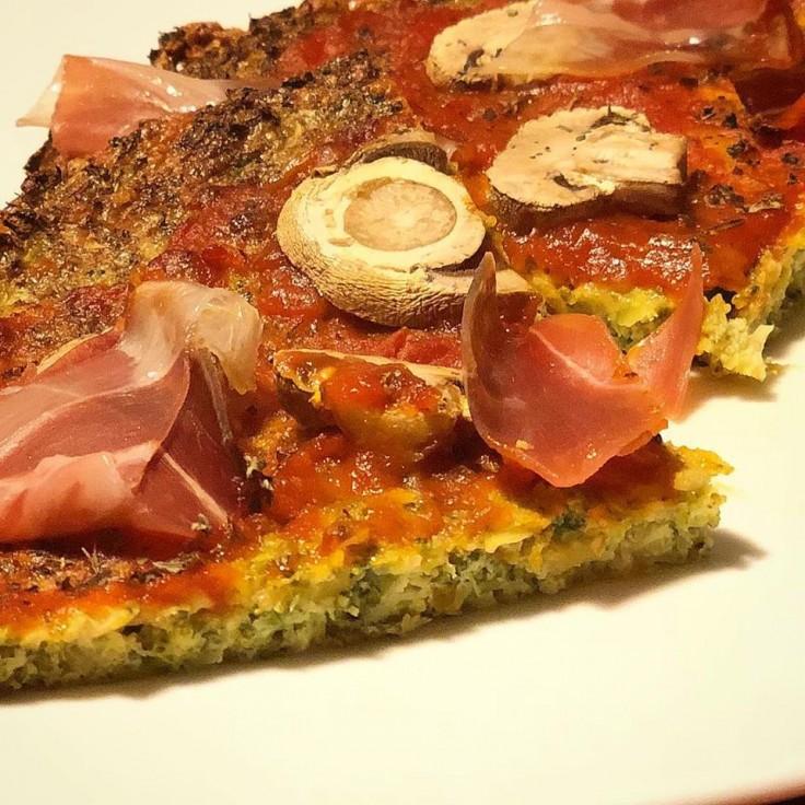Masa de brócoli para pizza