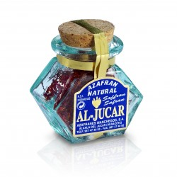 Saffron Select   Al-Jucar Glass jar 2 gr