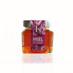 Miel con azafrán de La Mancha