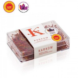 Spanish saffron with D.O. Karkom box 4 gr