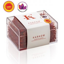 Spanish saffron with D.O. Karkom box 25 gr
