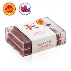 Spanish Saffron with D.O. karkom box 10 gr