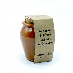 Saffron select Al-Júcar handmade pottery 1 gr