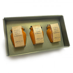 Pack Saffron ceramic jars